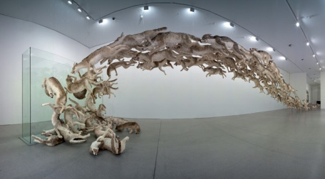 Cai Guo Qiang's Head On